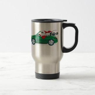 Santa's World Tour Convertible Stainless Steel Travel Mug