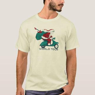 Santa's World Tour Scooter T-Shirt