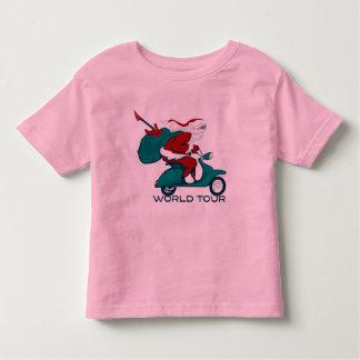 Santa's World Tour Scooter T-shirts