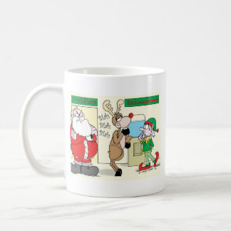 santawatercoolermug coffee mug