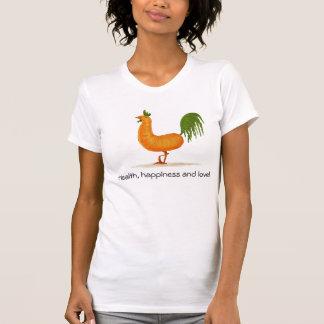Santé, bonheur et amour ! t-shirt