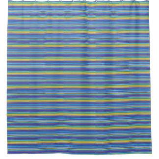 Sante fe stripes shower curtain