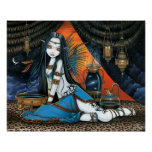 Santha Celestial Tribal Sage Fairy Angel Poster