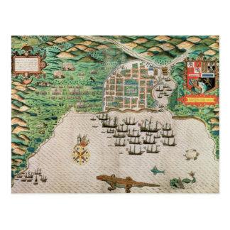 Santiago, Cape Verde, 1589 2 Postcard