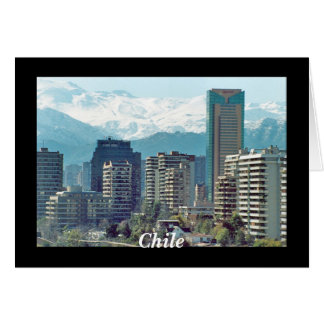 Santiago, Chile Card