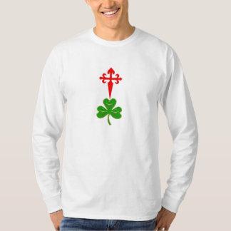 Santiago Cruzada y San Patricio Batallón Camisa T-Shirt