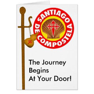 Santiago de Compostela Card