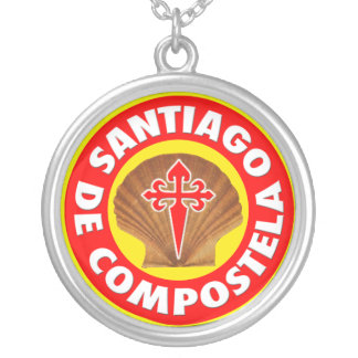 Santiago de Compostela Silver Plated Necklace