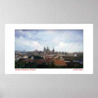 Santiago de Compostela (To Corunna) Poster