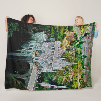 Santiago De Las Lajas, Columbia Acrylic Art Fleece Blanket