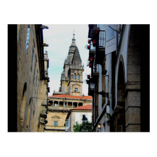 Santiago della Compostella Postcard