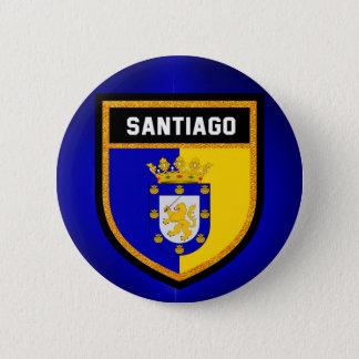 Santiago Flag 2 Inch Round Button