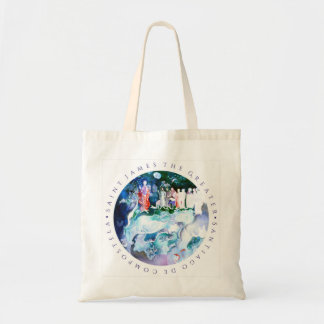 Santiago,  st. James the Greater, Camino Tote Bag