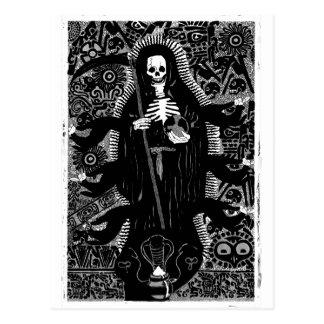 Santisima Muerte Postcard