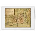 Santo Domingo Dominican Map 1805 Card