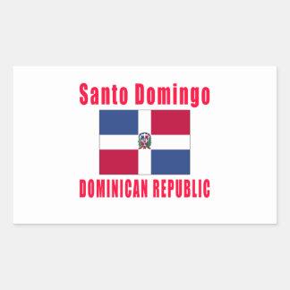 Santo Domingo Dominican Republic capital designs Sticker