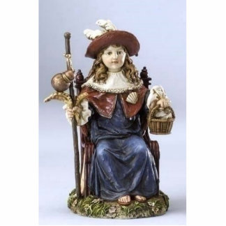 Santo Niño de Atocha Standing Photo Sculpture