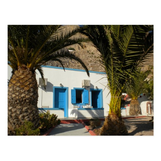 Santorini Ancient Thira Photo Colette  GuggenheiM Postcard
