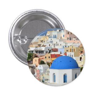 Santorini Architecture Button / Badge