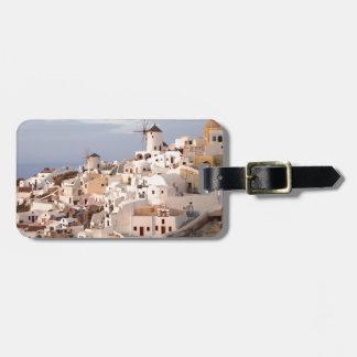 Santorini Beauty Bag Tag