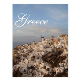 Santorini Beauty, Greece Postcard