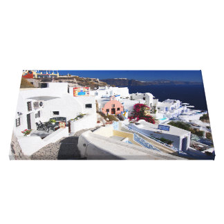 Santorini Canvas