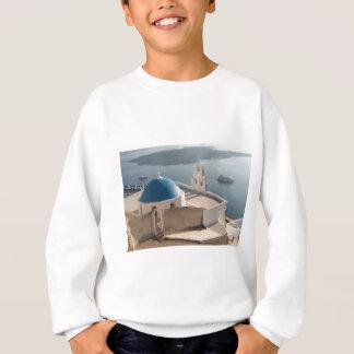 Santorini Church, Greece Sweatshirt