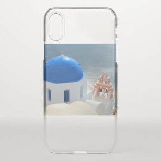 Santorini Church in the Afternoon Sun iPhone X Case