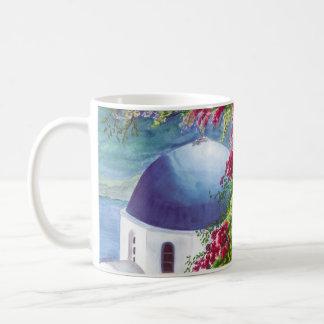 santorini dome mug
