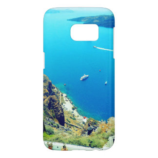 santorini greec ephone case