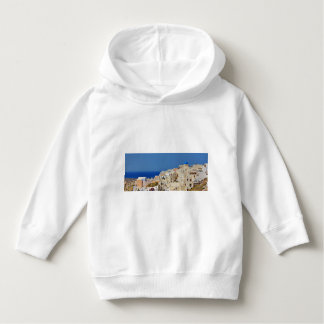 Santorini Greece and his architecture Hoodie