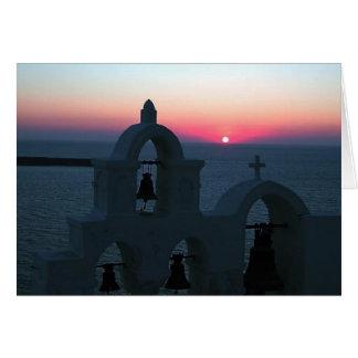 Santorini Greece photo Colette Guggenheim Card