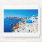Santorini Island - Caldera, Greece Mouse Pad