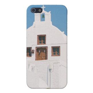 Santorini Island Church Greece iPhone Case iPhone 5 Cover