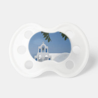 Santorini Island Greece Pacifier