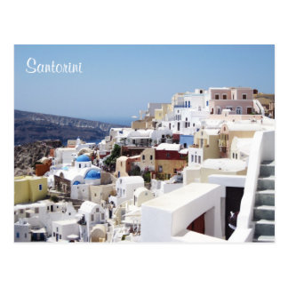 Santorini island Greece Postcard