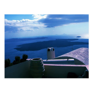 Santorini  Island Photo Colette Postcard