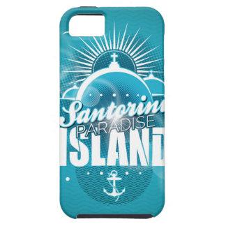 Santorini Paradise Island design iPhone 5 Case