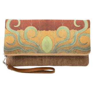 Santorini Sea Creature Clutch Bag
