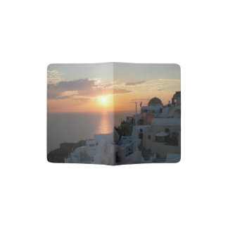Santorini Sunset Passport Holder