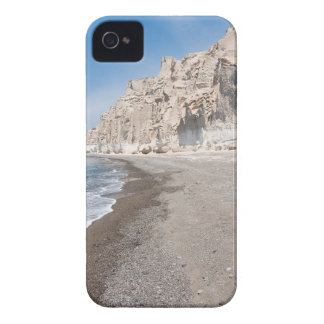 Santorini Vlichada beach iPhone 4 Case