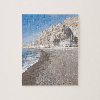 Santorini Vlichada beach Jigsaw Puzzle