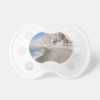 Santorini Vlichada beach Pacifier