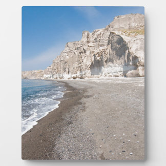 Santorini Vlichada beach Plaque