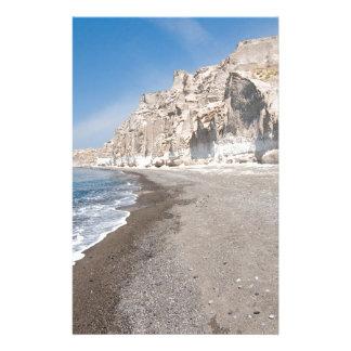 Santorini Vlichada beach Stationery