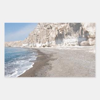 Santorini Vlichada beach Sticker