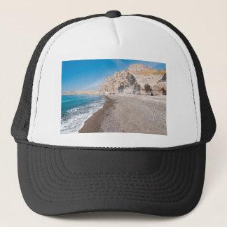 Santorini Vlichada beach Trucker Hat