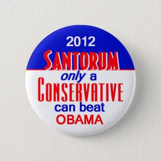 Santorum CONSERVATIVE 2 Inch Round Button