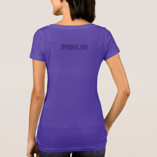 Santosha:  Be Content, Thankful & Happy T-Shirt