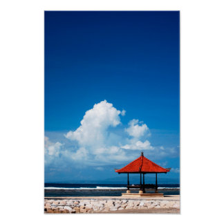 Sanur Beach Poster
